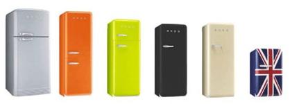 Achat frigo noir r frig rateur design frigo smeg for Peut on coucher un frigo froid ventile